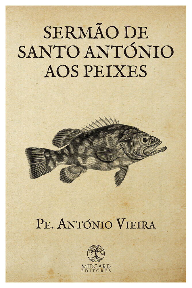 Frente Sermão de Santo António aos Peixes